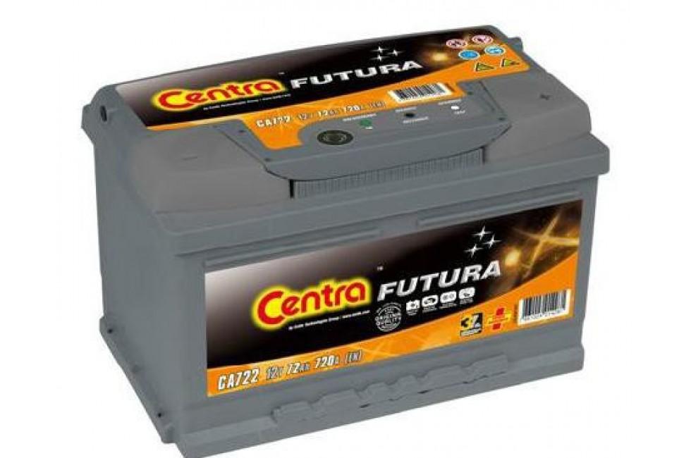 Аккумулятор Centra Futura CA722 72 А/ч 720A R+