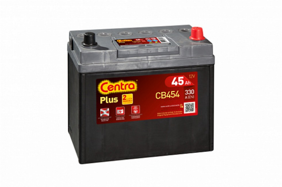 Аккумулятор Centra Plus CB450 45 А/ч 330A R+