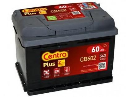 Аккумулятор Centra Plus CB602 60A/h 540A R+
