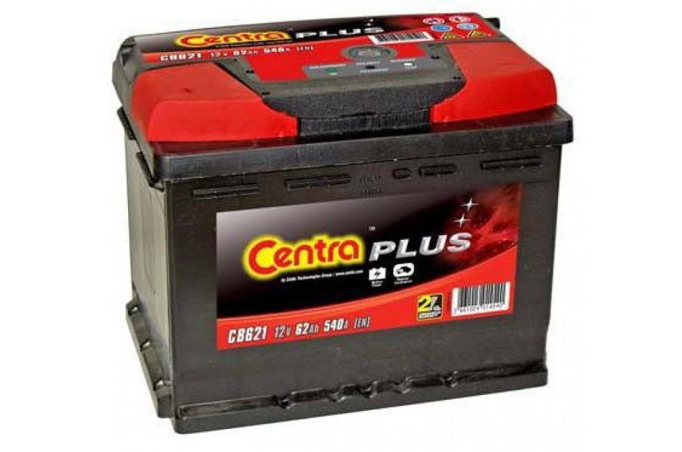 Аккумулятор Centra Plus CB621 62 А/ч 540A L+