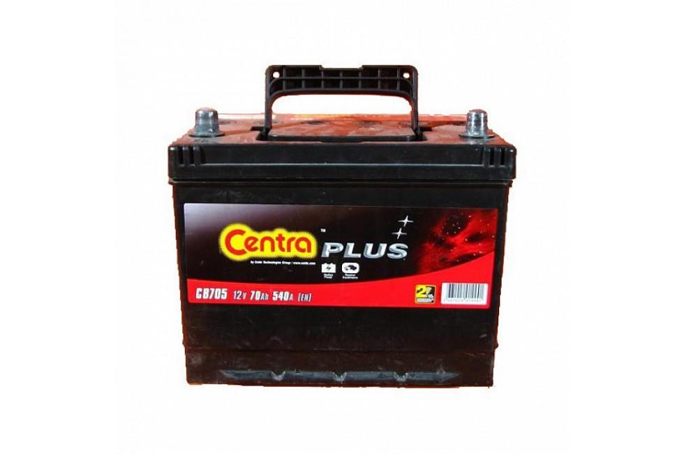 Аккумулятор Centra Plus CB705 70 А/ч 540A L+