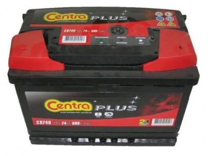 Аккумулятор Centra Plus CB740 74 А/ч 680A R+