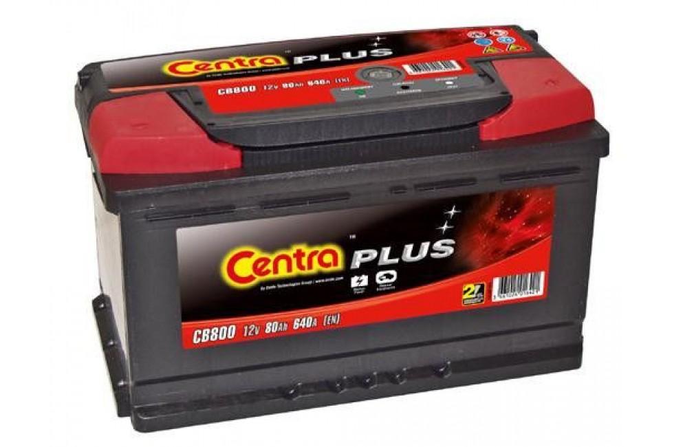 Аккумулятор Centra Plus CB800 80 А/ч 640A R+