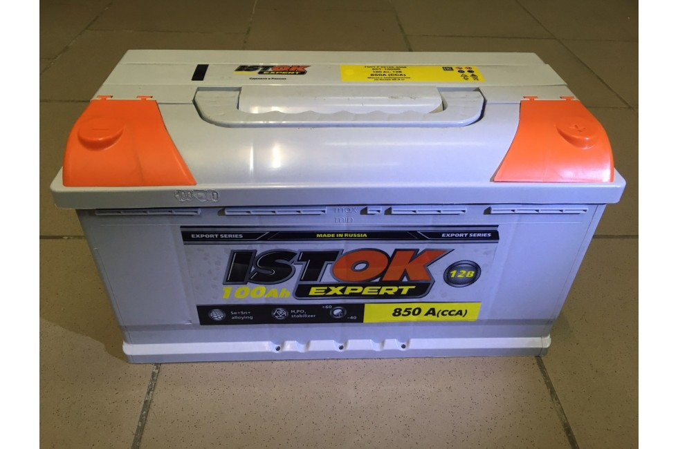 Аккумулятор ИСТОК 100 a/h 850 А (сса)
