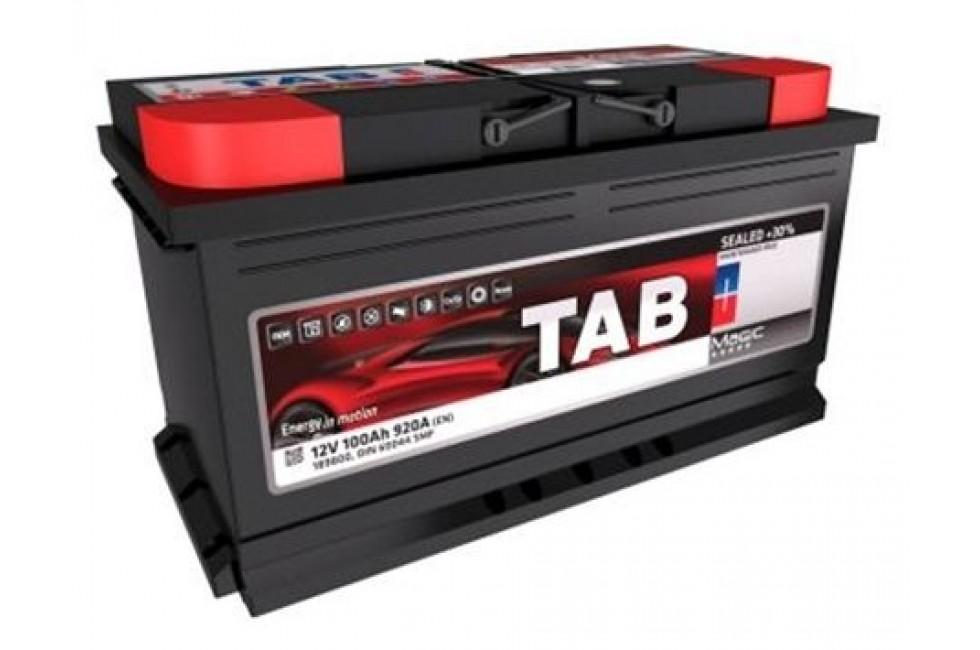 Аккумулятор Tab Magic 100 A/h 900A (EN)