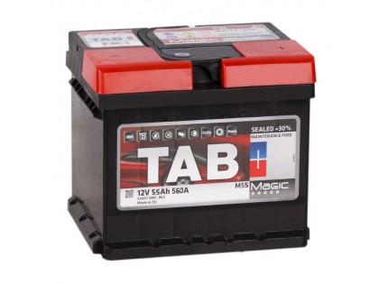 Аккумулятор Tab Magic 55 A/h 560А R+