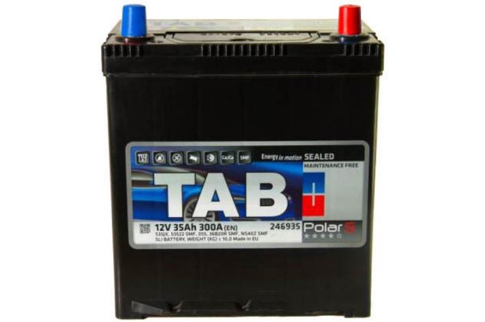 Аккумулятор TAB Polar S Asia 35 JR (35 А·ч)