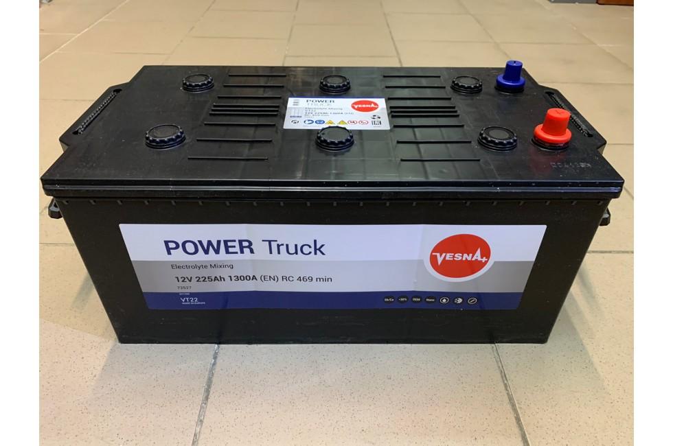 Аккумулятор VESNA Power 225 A/h R+ 1300A (EN)