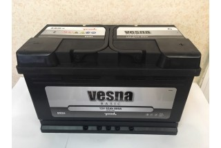 Аккумулятор VESNA Basic 92 a/h R+ 800A (EN)