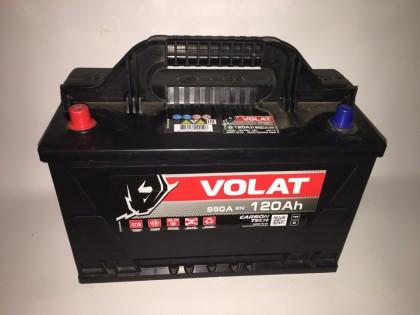 Аккумулятор VOLAT Ultra 120 A/h 950А L+