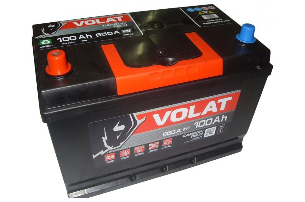 Аккумулятор VOLAT Ultra ASIA 100 A/h 920A L+