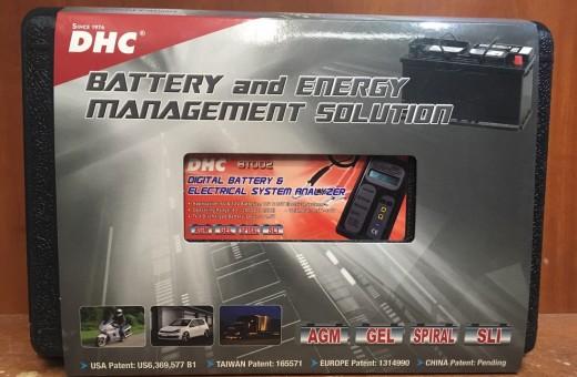 Тестер аккумуляторный DHC BT 002