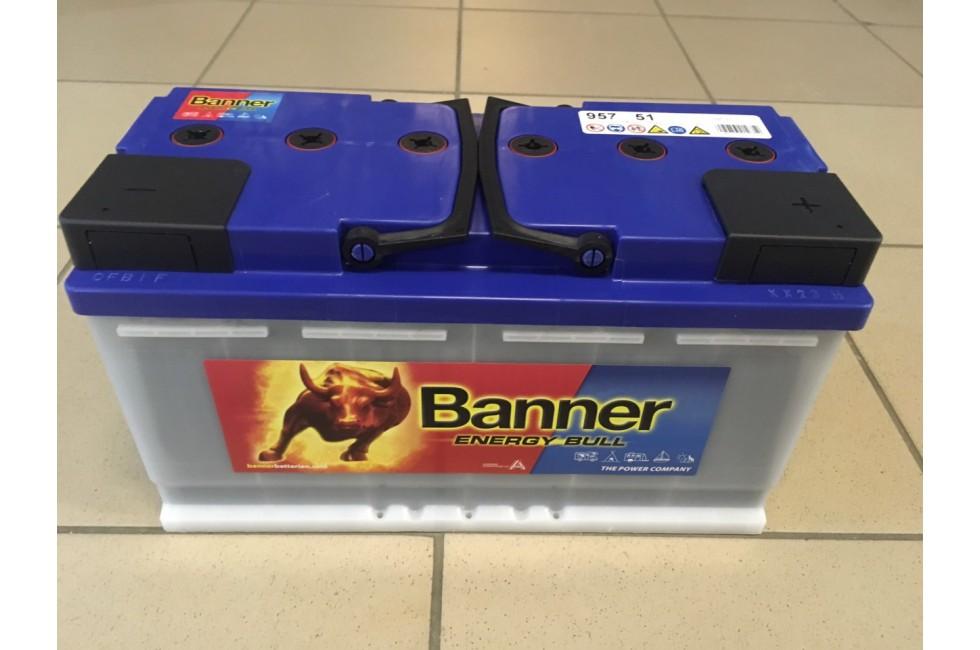 Аккумулятор Banner energy bull 75/100A