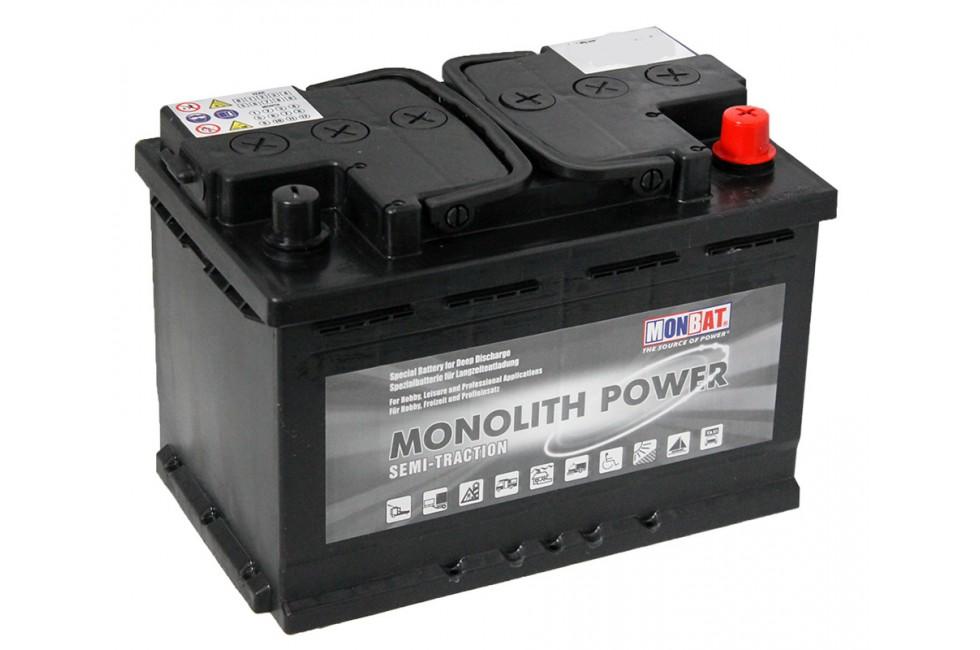 Аккумулятор MONBAT Monolith Semi-Traction 75/60