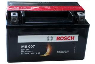 Аккумулятор Bosch M6 007 506 015 005 (6 A/H), 105A, YTX7A-BS