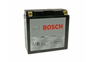 Аккумулятор Bosch M6 020 512 903 013 (12 A/H), 190A,  YT14B-BS / YT14B-4