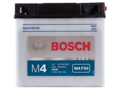 Аккумулятор Bosch M4 F54 530 030 030 (30 A/H)