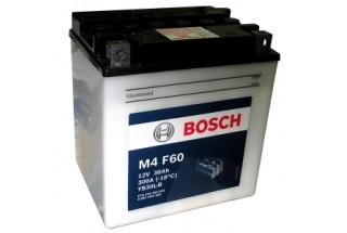 Аккумулятор Bosch M4 F60 530 400 030 (30 A/H), 300A R+, YB30L-B