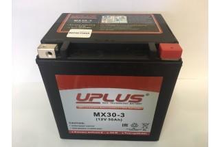 Аккумулятор UPLUS Super Star GEL MX30-3 (YB60L-B; YIX30L) (30Аh) R+