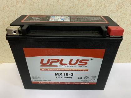 Аккумулятор UPLUS Super Star MX 18-3 12 V 20Ah R+