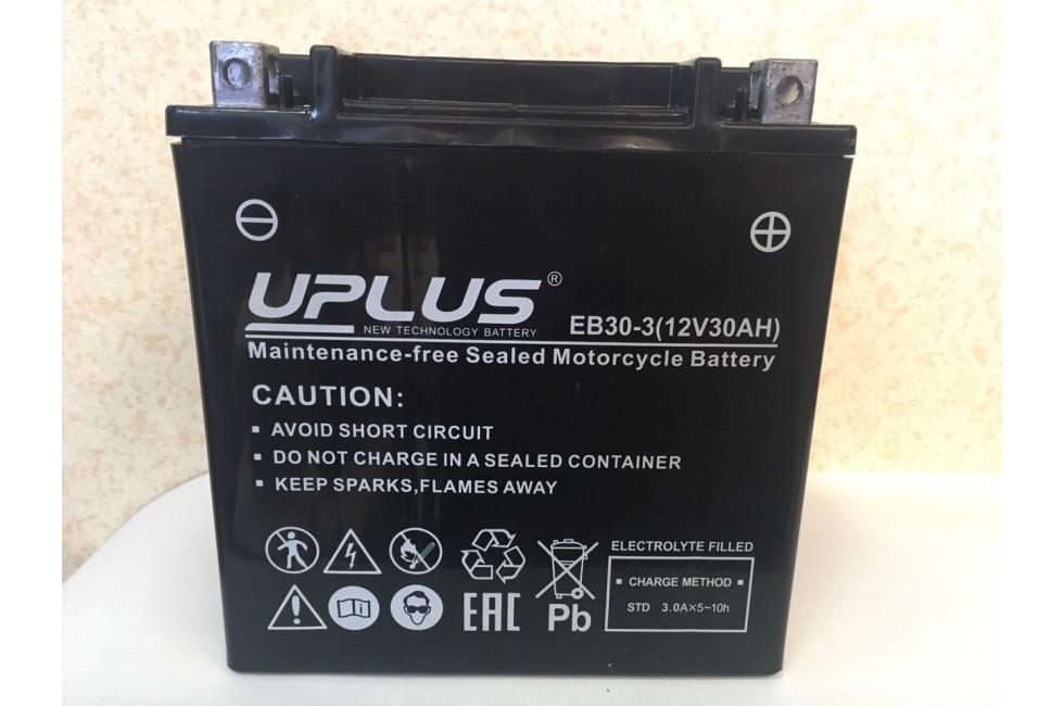 Аккумулятор Аккумулятор UPLUS Super StarEB30-3 YB30L-B 30 Ah R+