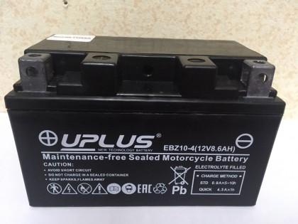 Аккумулятор Uplus super star EBZ10-4 YTZ10s 508901