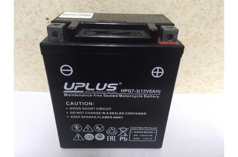Аккумулятор Uplus super star HPG7-3 , YTX7L-BS 506014
