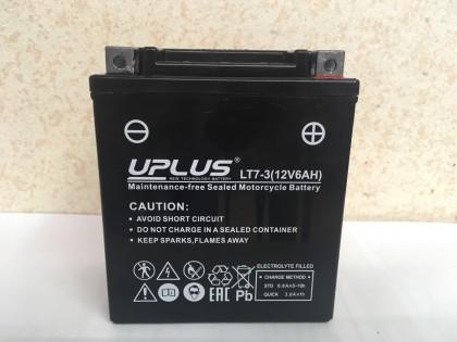 Аккумулятор UPLUS LT7-3 (YTX 7L- BS 506014) 6 Ач R+