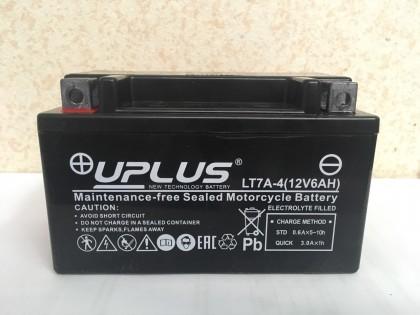 Аккумулятор UPLUS LT7A-4 (YTX 7A- BS 506015) 6 Ач L+