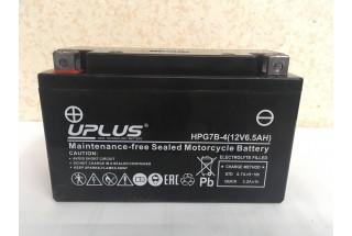 Аккумулятор UPLUS Nano Gel HPG7B-4 (YT 7B- BS 507901) 6.5 Ач L+