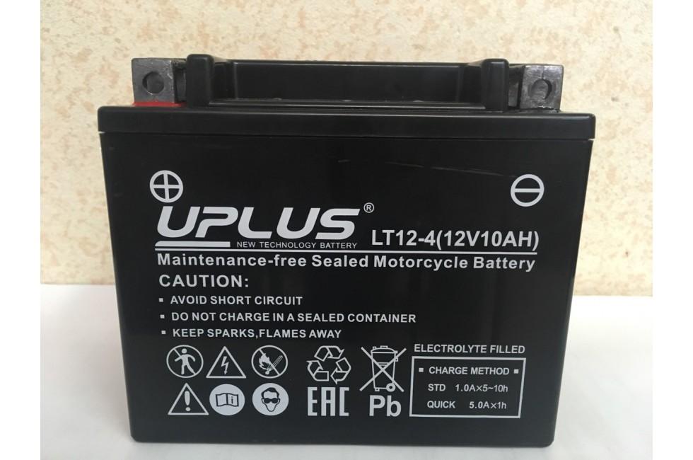 Аккумулятор UPLUS Super Start LT12-4 (YTX 12- BS 510012) 12 Ач L+