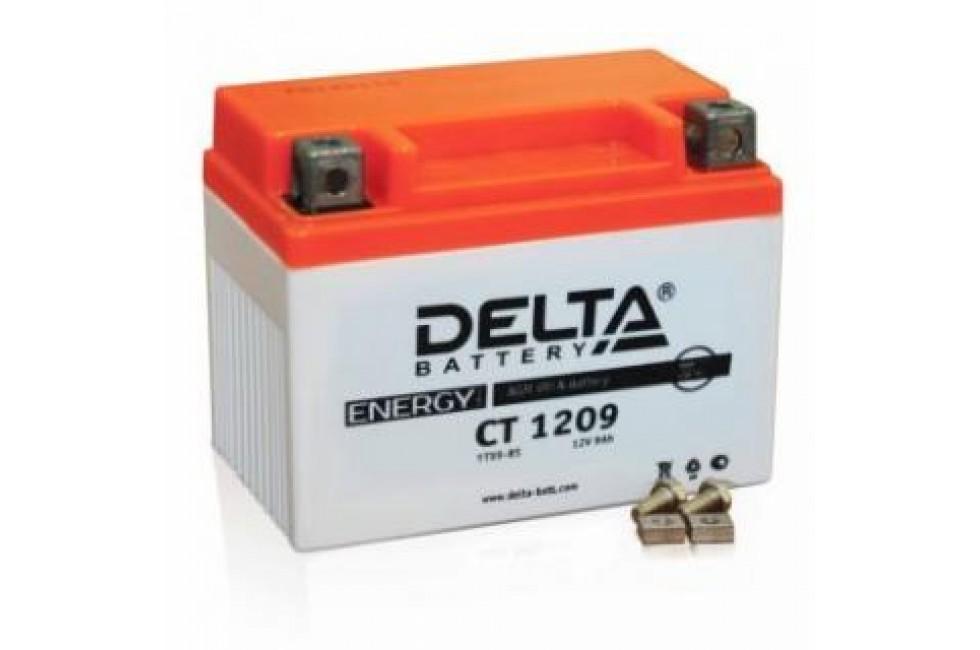 Аккумулятор Delta CT1209 (YTX9-BS, YTX9)