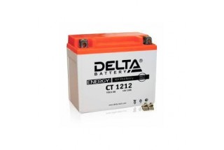 Аккумулятор Delta CT1212 (YTX14-BS, YTX12-BS)