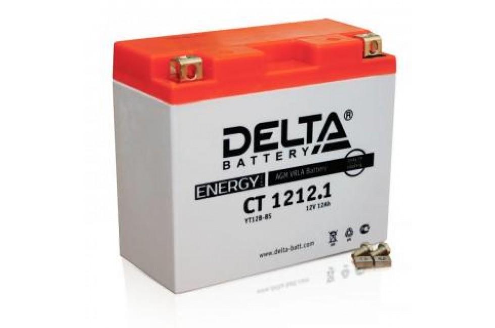 Аккумулятор Delta CT1212.1 (YT12B-BS)