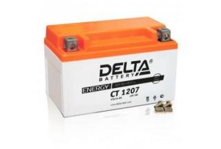 Аккумулятор Delta CT1207 (YTX7A-BS)