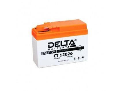 Аккумулятор Delta CT12026 (YTX4A-BS)