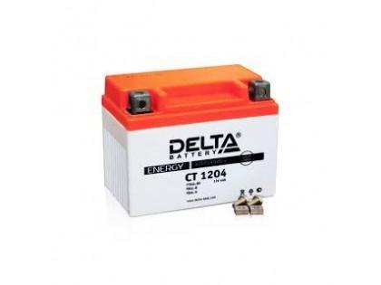 Аккумулятор Delta CT1204 (YT4L-B, YT4L-A, YTX4L-BS)