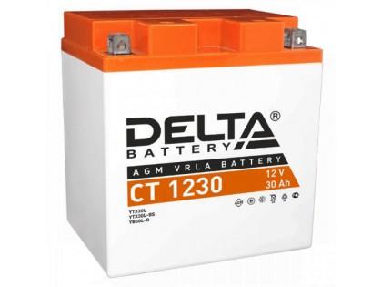 Аккумулятор Delta CT1230 YTX30L-BS