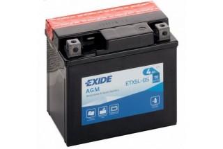 Аккумулятор Exide ETX5L-BS (4Ah, 70A) R+