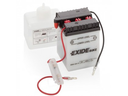 Аккумулятор Exide 6N4-2A-4 (4 А/ч) 35А R+