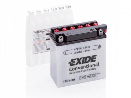 Аккумулятор Exide 12N5.5-3B (5.5 A/h), 45А R+