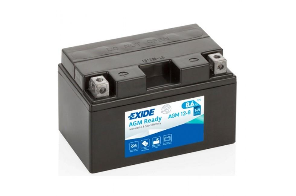 Аккумулятор Exide AGM12-8 (8.6 A/h), 145А L+