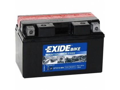 Аккумулятор Exide ETZ10-BS (8,6 A/h), 145A L+