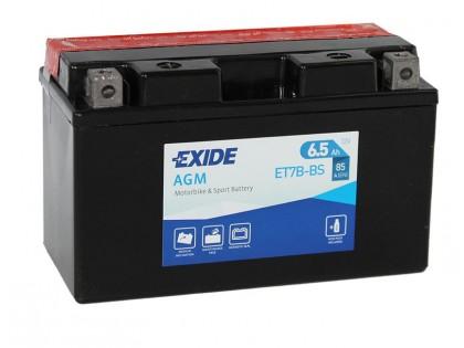 Аккумулятор Exide ET7B-BS (6,5 A/h), 85А L+