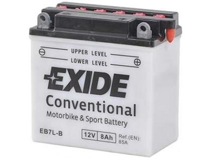 Аккумулятор Exide EB7L-B (8 A/h), 85А R+