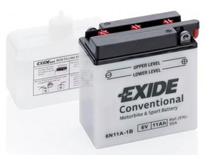 Аккумулятор Exide 6N11A-1B (11 A/h), 95А R+