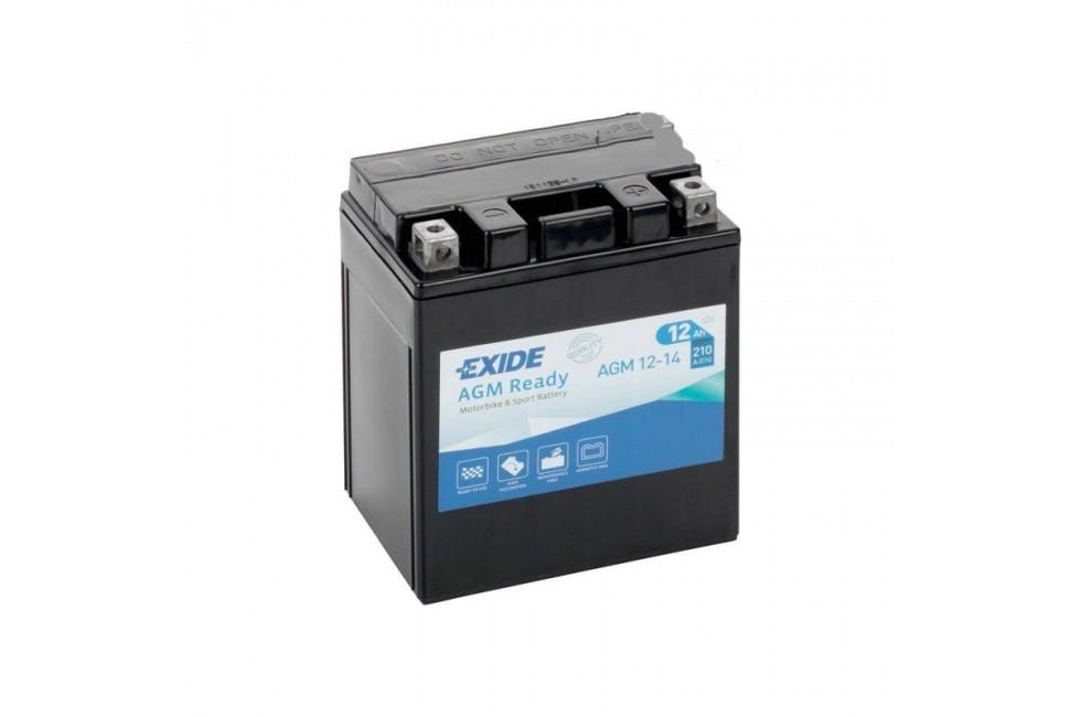 Аккумулятор Exide AGM12-14 (12 A/h), 210А R+