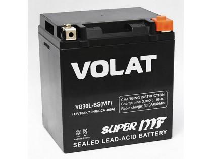 Аккумулятор VOLAT YB30L-BS (MF) AGM 30 A/h 400A R+