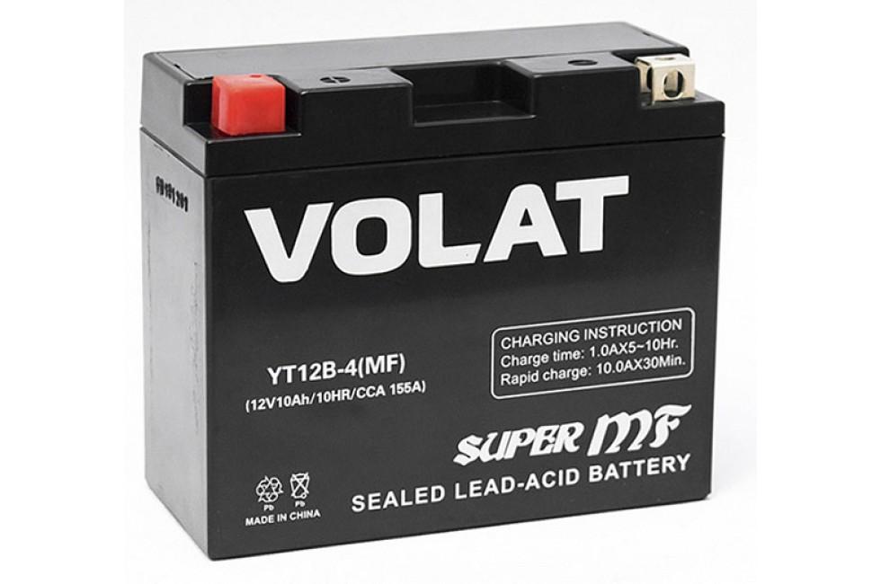 Аккумулятор VOLAT YT12B-4 (MF) AGM 10 A/h 155A L+