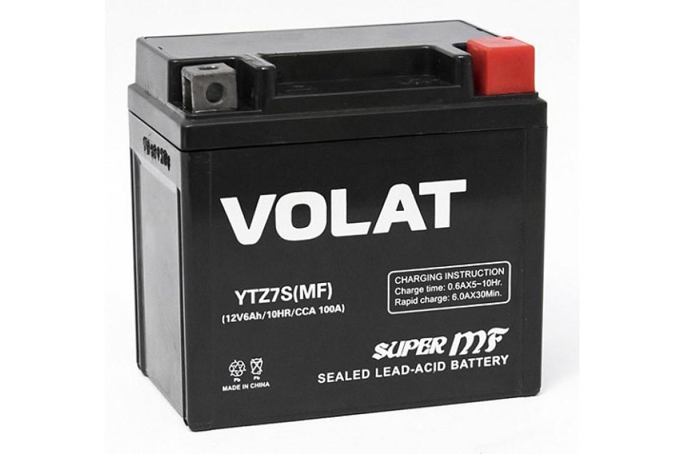 Аккумулятор VOLAT YTZ7S-BS (MF) AGM 6 A/h 100A R+